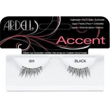 Ardell Rzęsy i akcesoria Accent 301 1 para sztucznych rzęs Black