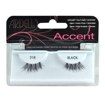 Ardell Rzęsy i akcesoria Accent 318 1 para sztucznych rzęs Black