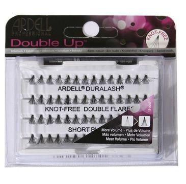 Ardell Rzęsy i akcesoria Double Up zestaw 56 kępek rzęs Short Black