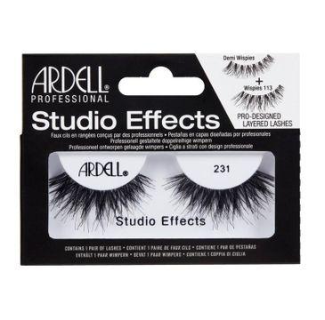 Ardell Studio Effects sztuczne rzęsy 231 Black