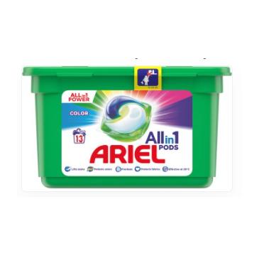 Ariel All in 1 Kapsułki do prania Color (13 szt.)