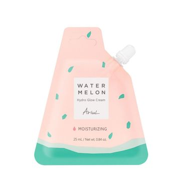Ariul Watermelon Hydro Glow Cream nawilżający krem do twarzy w saszetce (25 ml)