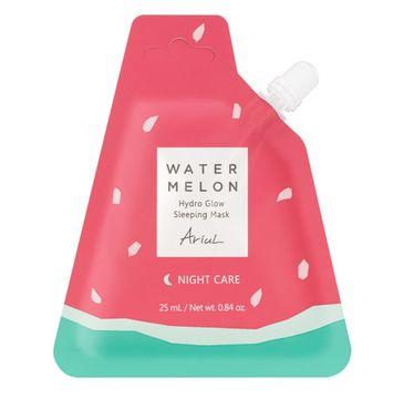 Ariul Watermelon Hydro Glow Sleeping Mask nawilżająca maska na noc w saszetce (25 ml)