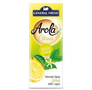 General Fresh Arola odświeżacz powietrza Magiczna Szyszka Zapas Cytryna (40 ml)