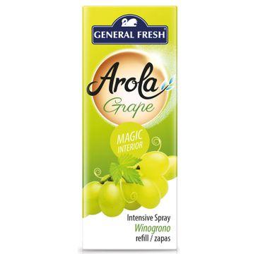 General Fresh Arola wkład do odświeżacza spray Magiczna Szyszka Winogrono (40 ml)