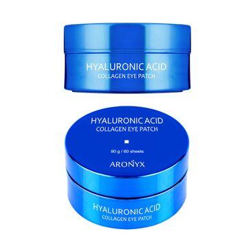 Aronyx  Hyaluronic Acid Collagen Eye Patch nawilżające hydrożelowe płatki pod oczy z kwasem hialuronowym i kolagenem (60 szt.)