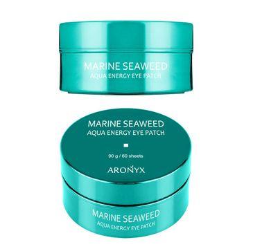 Aronyx Marine Seaweed Aqua Energy Eye Patch energetyzujące hydrożelowe płatki pod oczy z algami morskimi (60 szt)