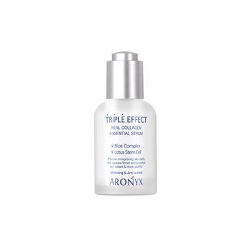 Aronyx Triple Effect Real Collagen Essential Serum nawilżające serum do twarzy o potrójnym działaniu (50 ml)