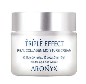 Aronyx  Triple Effect Real Collagen Moisture Cream nawilżający krem kolagenowy o potrójnym działaniu (50 ml)