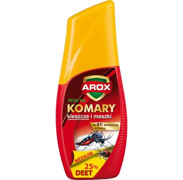 Arox Płyn Deet medium na komary,kleszcze, meszki (100 ml)