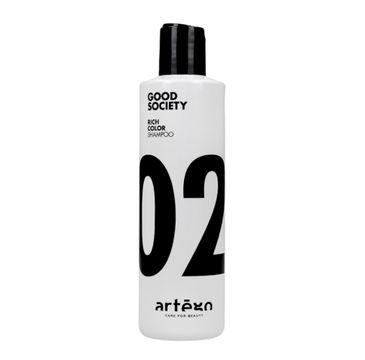 Artego Good Society Rich Color 02 Shampoo szampon do włosów farbowanych (250 ml)