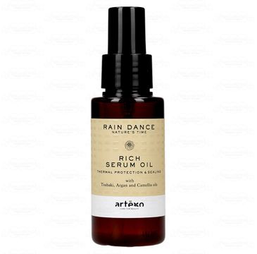 Artego Rain Dance Rich Serum Oil intensywnie nawilżające serum do włosów (75 ml)