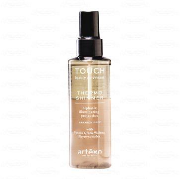 Artego Touch Thermo Shimmer dwufazowy spray termoochronny do włosów (150 ml)