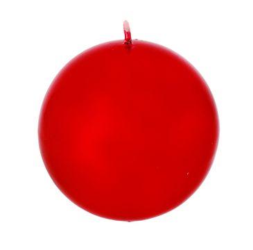 Artman – Boże Narodzenie Świeca ozdobna Lustro czerwona - kula duża (1 szt.)