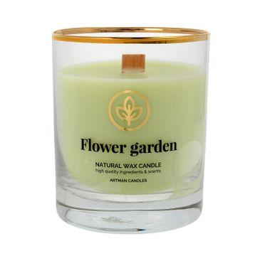 ARTMAN Organic Świeca zapachowa z drewnianym knotem Flower Garden 1 szt.
