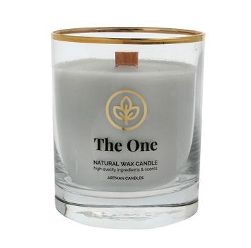 ARTMAN Organic Świeca zapachowa z drewnianym knotem The One 1 szt.