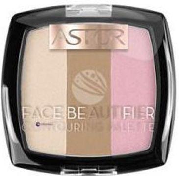Astor Face Beautifier Contouring Palette paletka do konturowania twarzy 001 Light 9,2g