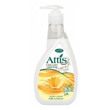 Attis mydło w płynie Milk & Honey (400 ml)