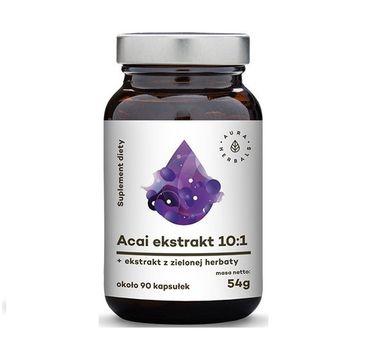 Aura Herbals Acai Ekstrakt 10:1 suplement diety 90 tabletek