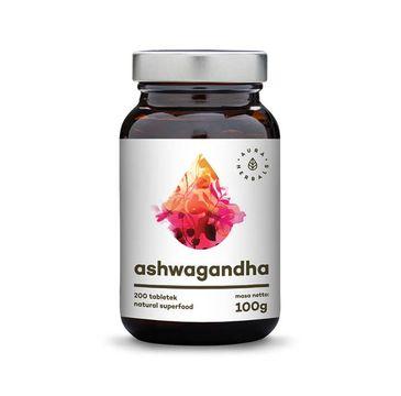 Aura Herbals Ashwagandha suplement diety 200 tabletek 100g