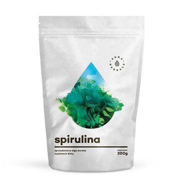 Aura Herbals Spirulina sproszkowana alga morska suplement diety 200g