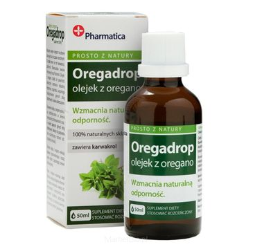 Aura Herbals Suplement diety wzmacniający naturalną odporność Oregadrop 50ml