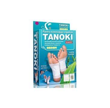 Aura Herbals Tanoki Detox Foot Pads plastry oczyszczające organizm 10szt