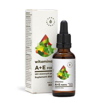 Aura Herbals Witamina A + E Forte suplement diety 30ml