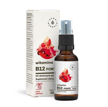 Aura Herbals Witamina B12 Forte suplement diety 30ml