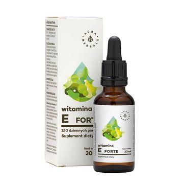 Aura Herbals Witamina E Forte suplement diety 30ml