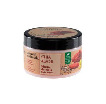 Aura Naturals Chia i Goji masło do ciała (250 ml)