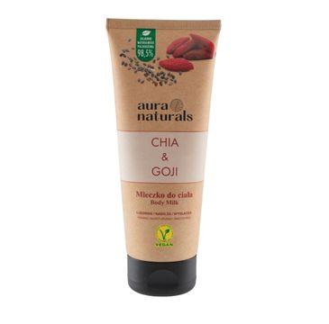 Aura Naturals Chia i Goji mleczko do ciała (200 ml)