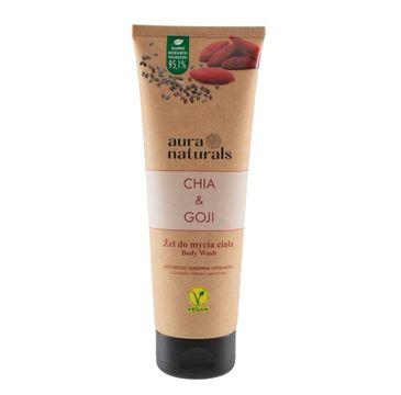 Aura Naturals Chia i Goji żel do mycia ciała (250 ml)