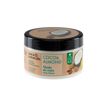Aura Naturals Coco i Almond masło do ciała (250 ml)