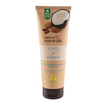 Aura Naturals Coco i Almond żel do mycia ciała (250 ml)