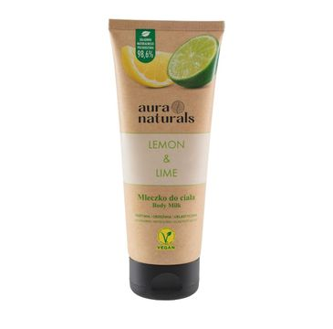 Aura Naturals Lemon i Lime mleczko do ciała (200 ml)