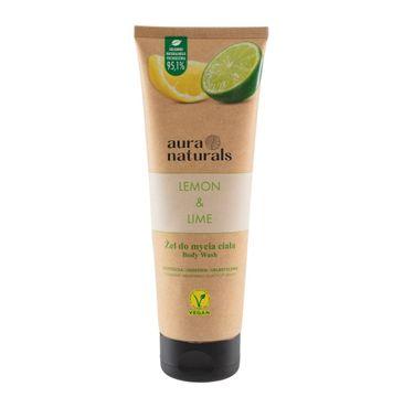 Aura Naturals Lemon i Lime żel do mycia ciała (250 ml)