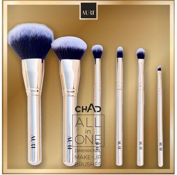 Auri – Chad All in One Dimensional Make-up Brushes zestaw 6 pędzli do makijażu (1 szt.)