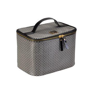 Auri Simple Black & White - kuferek kosmetyczny duży