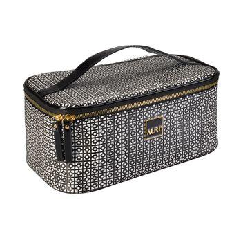 Auri Simple Black & White - kuferek kosmetyczny średni