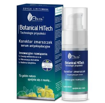 Ava Botanical HiTech Korektor zmarszczek serum antyoksydacyjne (30 ml)