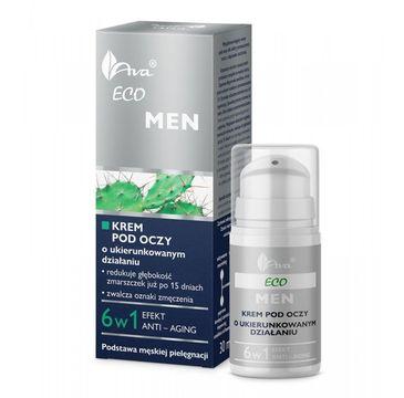 AVA Eco Men krem pod oczy przeciwzmarszczkowy 15 ml