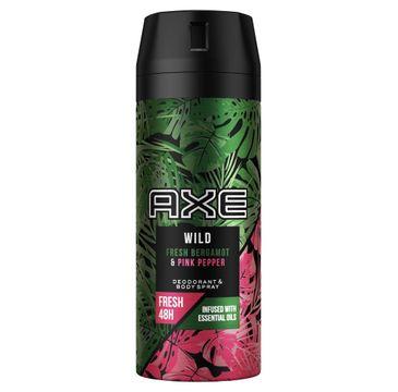 AXE Wild Fresh Bergamot & Pink Pepper – dezodorant i spray do ciała(150 ml)