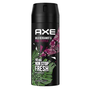 Axe Wild Fresh Bergamot & Pink Pepper dezodorant w aerozolu dla mężczyzn (150 ml)