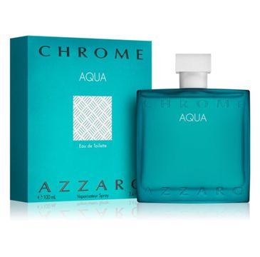 Azzaro Chrome Aqua woda toaletowa spray 100ml