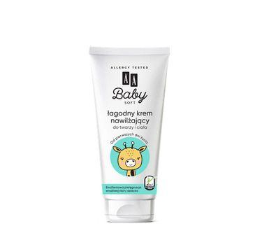 AA Baby Soft - krem nawilżający do twarzy i ciała 75 ml