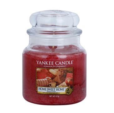 Yankee Candle – Świeca zapachowa średni słój Home Sweet Home (411 g)