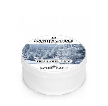 Country Candle – Daylight świeczka zapachowa Fresh Aspen Snow (42 g)