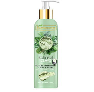 Bielenda Botanical Clays pasta do mycia twarzy z glinką zieloną (190 g)