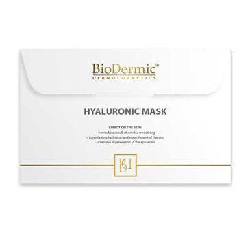 Biodermic – Hyaluronic Acid Maska na twarz na tkaninie z kwasem hialuronowym (25 ml)